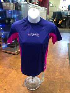 O'Neill Kids Size 16 Purple/Pink Rash Vest