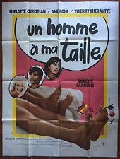 Affiche UN HOMME A MA TAILLE Thierry Lhermitte ANEMONE 120x160cm
