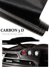 Preis [16,00€/ m²] 3D Autofolie  Carbon Folie Schwarz Auto Folie Selbstklebend