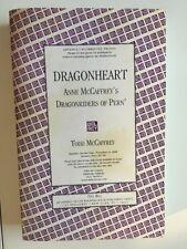 Anne McCaffrey Todd McCaffrey Dragon Heart TPB uncorrected proofs
