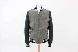 Dolce & Gabbana D&G Woven Leather Trim Mens Jacket Size 50 UK L BNWTS