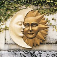 Celestial Harmony Sun And Moon Design Toscano Exclusive Wall Sculpture