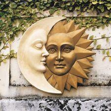 Celestial Harmony Sun And Moon Design Toscano Exclusive Wall Sculpture