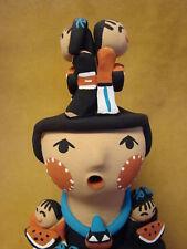 Jemez Pueblo Indian Handmade Clay Storyteller by Tim Tosa