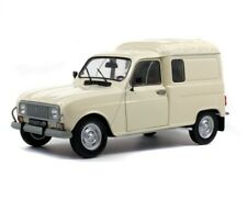 RENAULT 4 F4 Van in Beige / White 1/18 scale model by SOLIDO
