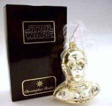 1998 Christopher Radko Star Wars C3PO Droid Glass Ornament ~ Retired