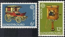 Luxembourg 1979 Europa/Communications/Stage Coach/Telephone 2v set (lu10111)