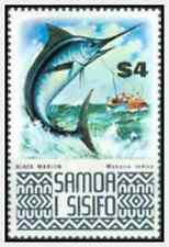 Timbre Poissons Samoa 336 ** lot 15833