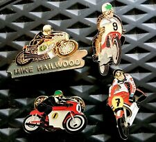 Isle Of Man TT Legends Pin Badges Rossi, SBK, MotoGP, Manx, Assen TT, UGP200