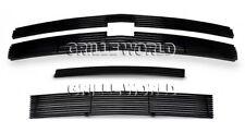 For 2007-2012 Chevy Silverado 1500 Black Billet Premium Grille Combo