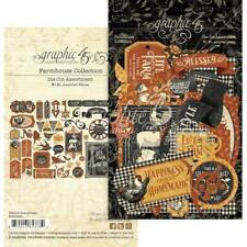 Graphic 45 Die-Cut Assortment - Farmhouse