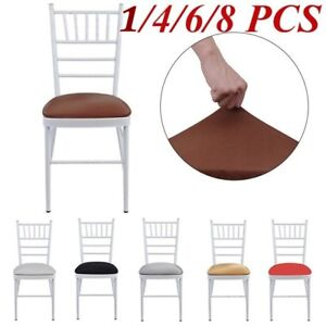 Chair Cover Sofa Cover Chair Seat Cover 8 Pieces Movable Flexible Household