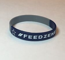 Dallas Cowboys #FEEDZEKE 214 #DAKATTACK Silicon Wristbands Bracelets!