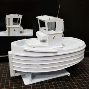 US Beaver Tug Boat Handmade Power Barrier Ship Propeller Window Motor Brass Kit