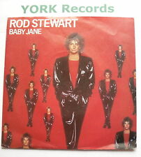 "ROD STEWART - Baby Jane - Excellent Condition 7"" Single Warner Brothers W 9608"