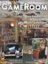 GameRoom Magazine Kym Scott  Pinball May 2002 Home Arcade Ideas