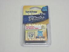 """Brother MK232 M 1/2"""" 12mm Ptouch tape PT65SB PT85 PT90"""