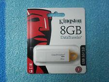 Pendrive 8GB Chiavetta Penna Usb 3.0 Memoria Kingston DTIG4/8GB