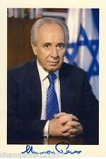 Shimon Peres ++Autogramm++ ++Israel. Minister++