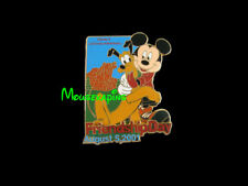 Mickey & Pluto for Friendship Day Disney 2001 Le 3D Pin