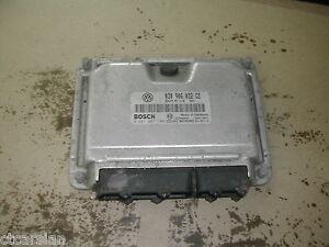 Engine control unit ECU VW Polo 1.0 6N2 MPI AUC 0261207184 030906032CE Bosch