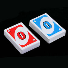 Family Entertainment Board Game UNO Fun Poker Playing Cards Puzzle Games KK