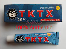 Tattoo Blue TKTX 20% More Numbing Cream Piercing Makeup Eyebrow Embroidered 10g