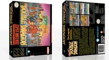 Super Double Dragon SNES Replacement Game Case Box + Cover Art (No Game)