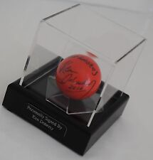 Ken Doherty Signed Autograph Snooker Ball Display Case Sport memorabilia & COA