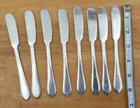 LOT OF 8 HOLMES & ED. VINTAGE 1933 FIRST LADY SILVERPLATED BUTTER SPREADERS