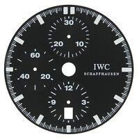 IWC Schaffhausen 32 mm Chronograph Original Men's Black Dial