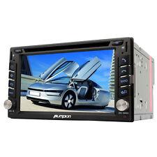 DOPPEL 2 DIN AUTORADIO MIT GPS NAVIGATION BLUETOOTH TOUCHSCREEN DVD/CD-PLAYER TV