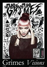 """MX07394 Grimes - Canada Synthpop Electronica Music Star 14""""x20"""" Poster"""