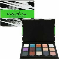Technic Eyeshadow Palette Under The Sea Matte Shimmer 999207SEA-F06