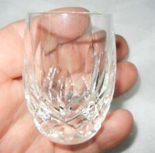 "VINTAGE 2 1/2"" WATERFORD CRYSTAL LISMORE SHOT GLASS EXCELLENT"