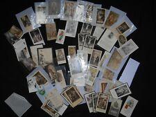 LOT + DE 60 ANCIEN IMAGES RELIGIEUSE PIEUSES  antique HOLY CARD lot 3