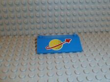 LEGO® Space Classic 3939 p91 p90 3x6x1 blue blau Logo 497 918 924 928 K299