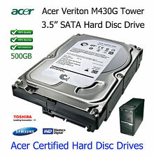 """500GB Acer Veriton M288 3.5"""" SATA Hard Disc Drive (HDD) Upgrade / Replacement"""