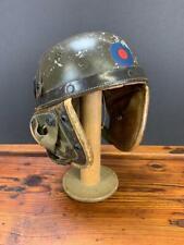 Post Wwii German Us Pattern Tanker Helmet Maury & Co Offenbach M56