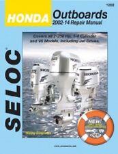 Seloc Repair Manual Honda 2002-2014 - 2-250 HP - 1-4 Cylinder & V6 - 18-01202