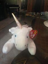 Ty Beanie Mystic Unicorn 1994 1993 w/ Tag ERRORS Plush Toy RARE PE RETIRED