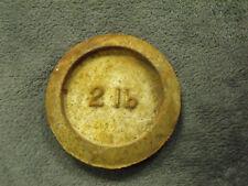 Metal Weight - 2lb (pre-decimalisation)