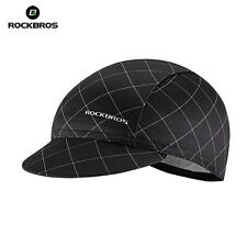 ROCKBROS World Champion Pro Team Cycling Cap Hat Sunhat Suncap Black