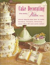 CAKE DECORATING THE EASY WILTON WAY PARTY CAKES SOFTCOVER BOOK 1973 EDITION 9/16