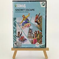 The Sims 4: Snowy Escape Expansion Pack (PC, 2020)  Sealed New