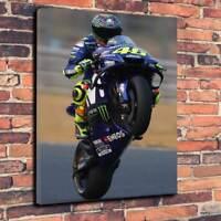 VALENTINO ROSSI The Doctor MotoGP Yamaha Canvas Print ~ 5 Sizes ~ GP01