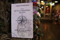 Around the World in 80 days Bilingual Azeri English 2018 Jules Verne