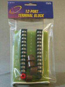 MTH 50-1014 LAYOUT WIRING TERMINAL BLOCK wire knobs NIB