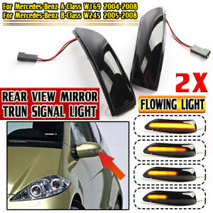 Dynamic LED Side Mirror Indicator Light For Mercedes A-Class W169 B-Class W245