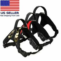 Dog Vest Harness Adjustable Patches No Pull & Leash Set Small Large Medium 5Size